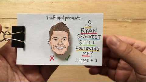 The Question on all of our Lips: Is Ryan Seacrest Following Me?