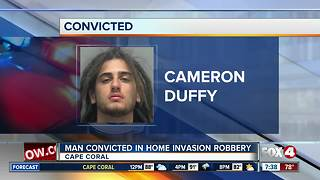 Man convicted for Cape Coral home invasion - Video