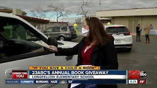 "23ABC's annual ""If You Give A Child A Book"" giveaway"
