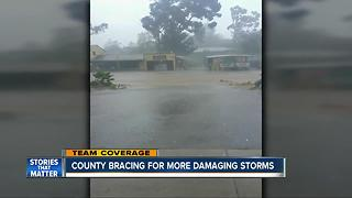 Parts of county braces for more damaging storms - Video