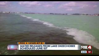 Lake Okeechobee discharges to begin Friday following heavy rain - Video