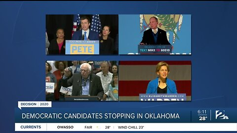 Democratic Candidates Stopping In Oklahoma