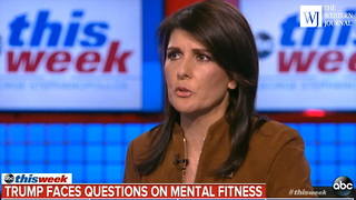 Michael Wolff Claims New Book Will 'End' Trump Presidency, Now Nikki Haley is Getting Involved - Video