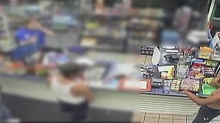 Surveillance camera captures man stealing cigars at Phoenix gas station - Video