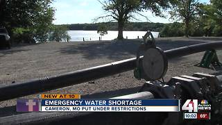 Cameron residents dealing with water shortage - Video