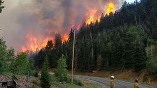 Wildfire Near Brian Head, Utah, Grows to 10,000 Acres - Video