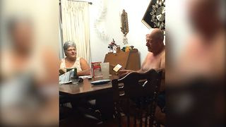 Grandmother To Be Has Hilarious Reaction