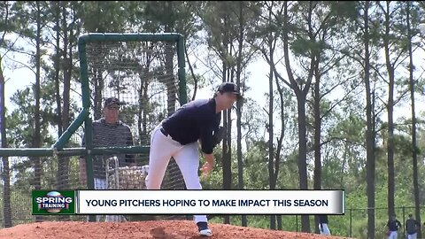 Young pitchers hoping to make impact this season