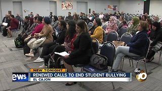 Concern over bullying allegations grows in El Cajon