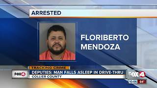Deputies: Man Falls Asleep in Drive-Thru