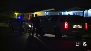 2 men in custody after incident involving West Palm Beach police cruiser