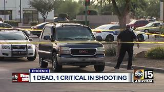 Man shot, killed in north Phoenix; suspects still sought - Video