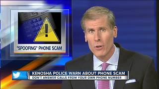 Kenosha Police warn about phone scam - Video