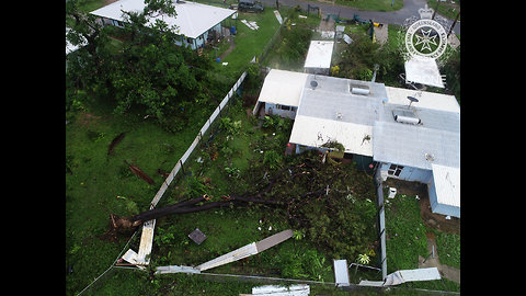 Cyclone Trevor Leaves Trail of Destruction in Lockhart River, Queensland