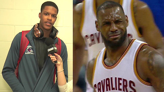 Shaq's Son Shareef O'Neal Says He Could BEAT LeBron James 1-on-1 - Video