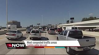 Tampa's traffic not ranked among worst in U.S. - Video