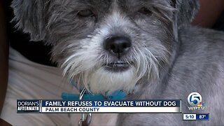 Family refuses to evacuate the Bahamas without their dog