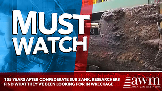 155 Years After Confederate Sub Sank, Researchers Find What They've Been Looking For In Wreckage - Video