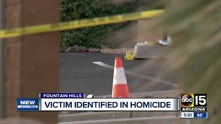 Victim identified in Fountain Hills homicide - Video