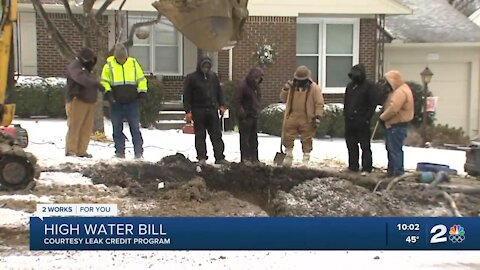Help available for high water bills