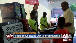 Last-minute fireworks sales making lasting impact on Freedom Hoops boys - Video