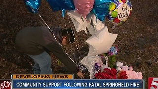 Community Comes Together To Support Family Of Kids Killed In Springfield Fire - Video