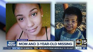 Phoenix police searching for mother and three-year-old missing for over a week - Video