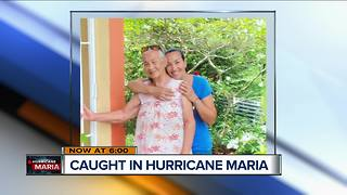 Mission leaves Racine woman in path of Hurricane Maria - Video