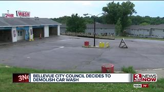 Bellevue City Council decides to demolish car wash on property owned by Councilman Pat Shannon - Video