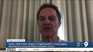 Shelter for unaccompanied minors is operating in Benson