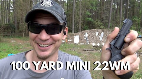 Micro Revolver at 100 Yards!