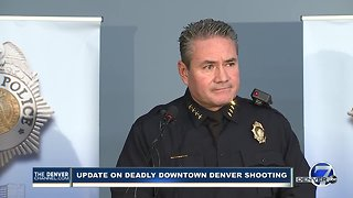 Denver police chief: 2 arrested in downtown Denver shooting that killed 1, injured 4 - Video