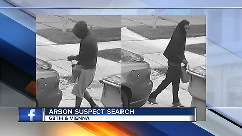 Milwaukee Police searching for brazen arson suspects