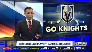 Game 1 for Golden Knights set for Thursday night - Video