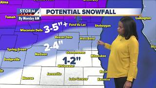 Meteorologist Elissia Wilson's Saturday evening Storm Team 4cast - Video