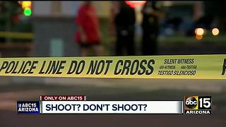 Shoot or don't shoot: When is it OK? - Video