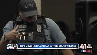 KCPD's movie night brings community together