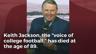 Remembering Legendary Broadcaster Keith Jackson - Video