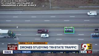 Drones studying Tri-State traffic - Video
