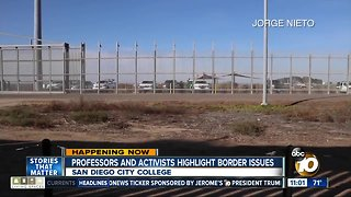 Border issues highlighted at conference