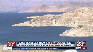Lake Isabella Dam safety concerns - Video