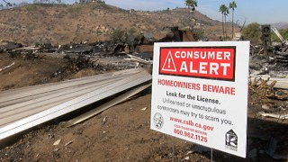 Fire victims at risk of getting scammed - Video