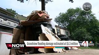 Grandview flooding damage estimated at $1.3 million - Video