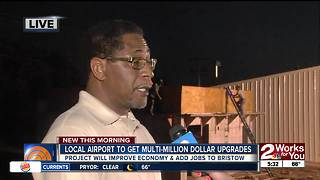 Bristow's Mayor talks about new runway