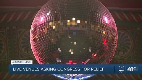 Live venues asking Congress for relief