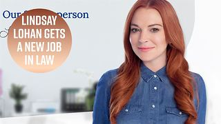Lindsay Lohan now works at a lawyer directory firm - Video