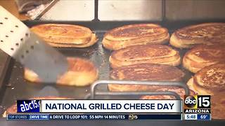 Celebrate 'National Grilled Cheese' Day with $5 sandwiches - Video