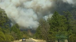 Residents Evacuated as Arizona Wildfire Grows to 8,000 Acres - Video