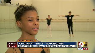A Nutcracker first in Cincinnati - Video