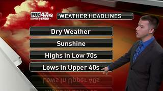 Dustin's Forecast 8-23 - Video